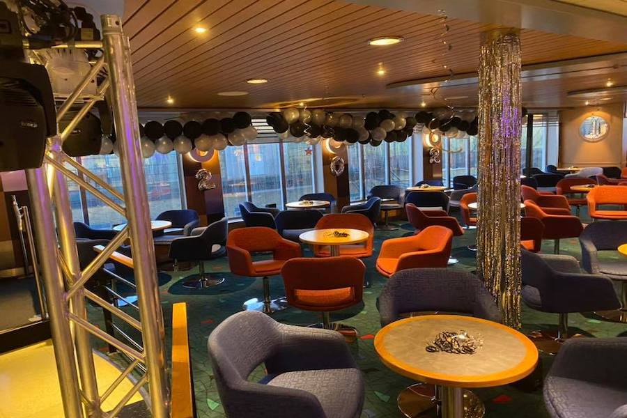 Silvesterparty an Bord der Stena Line: